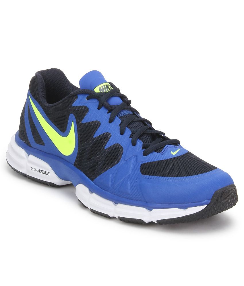 sports shoes 369f3 75ce2 Nike Dual Fusion Tr 6 Blue Sport Shoes - Buy Nike Dual Fusion Tr 6 Blue  Sport Shoes Online at Best Prices in India on Snapdeal