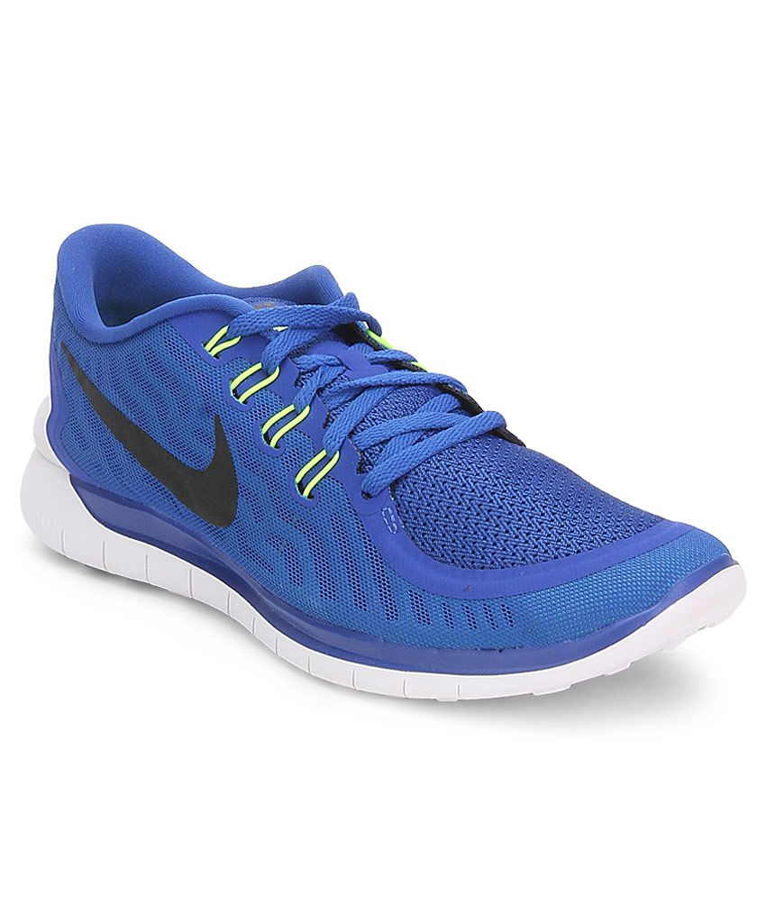 Nike Free 5 Blue Sport Shoes
