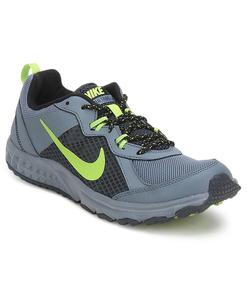 official photos 0c271 f0b6b Nike Wild Trail Gray Sport Shoes