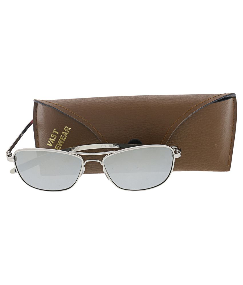 491107cab3a Vast Silver Rectangle Sunglasses - Buy Vast Silver Rectangle ...