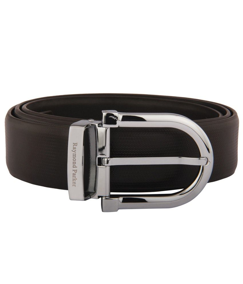 Raymond Parker Brown Leather Formal Belt