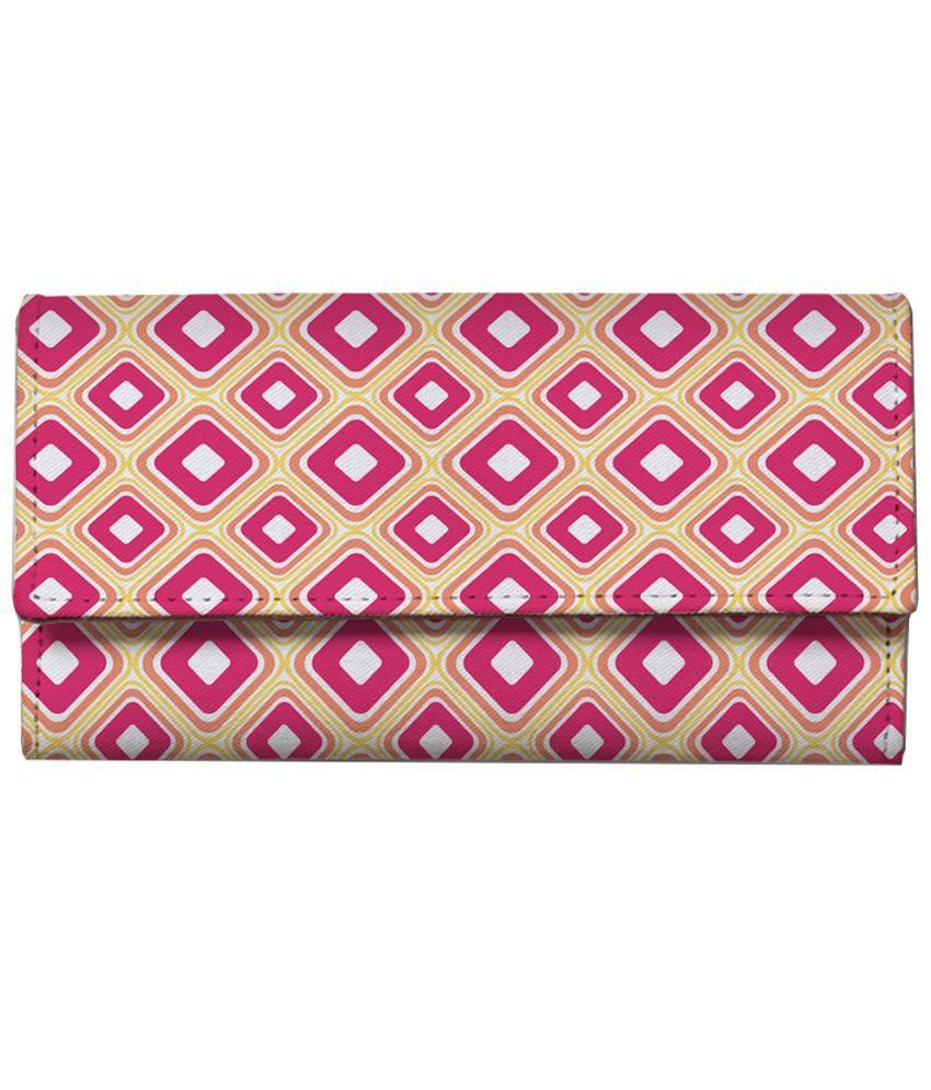 ShopMantra Multicolour Leather Regular Wallet
