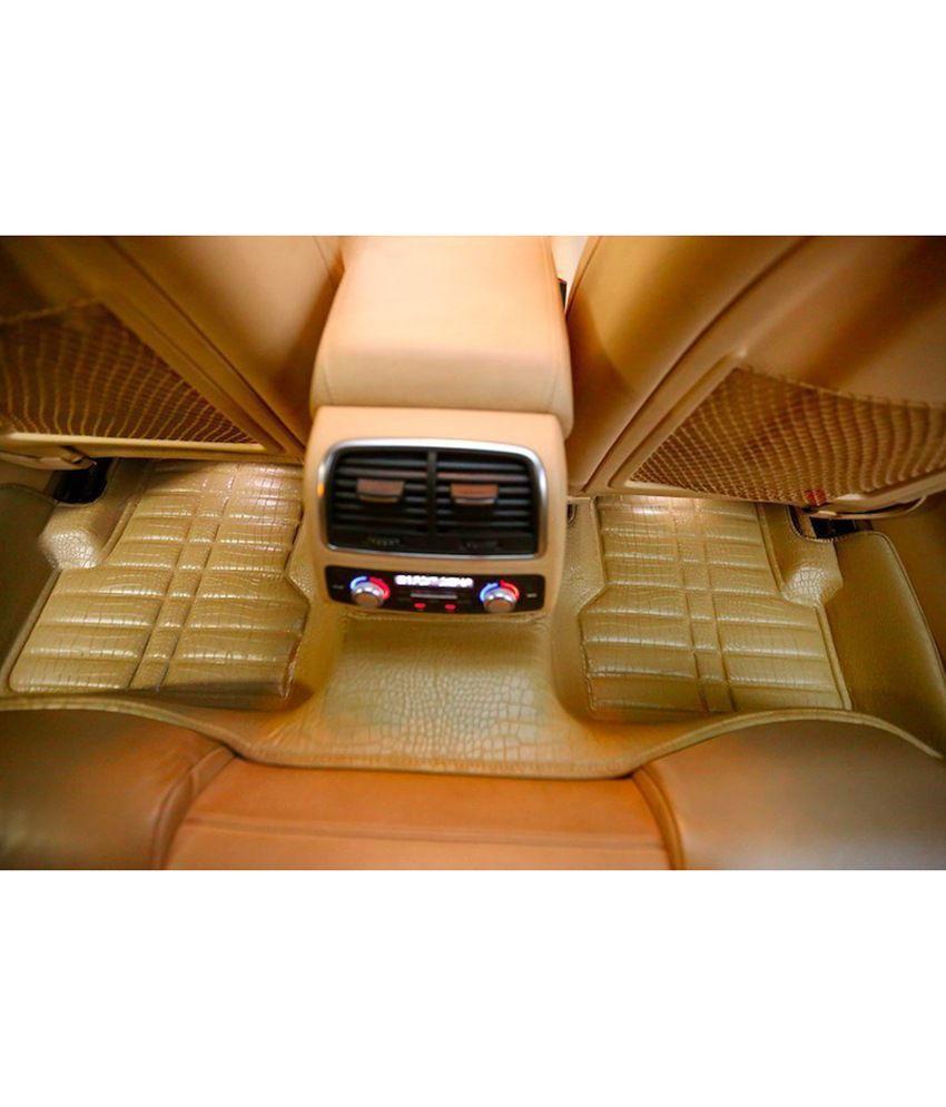 Autoparx Beige Maruti Ciaz 5d Car Mat: Buy Autoparx Beige Maruti Ciaz 5d Car Mat Online at Low