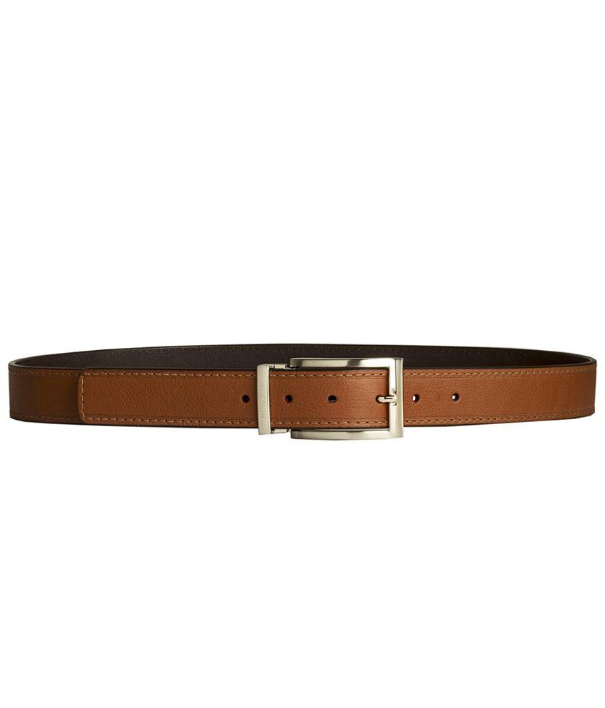 Hidesign Ryan Tan Reversible Leather Men's Belt