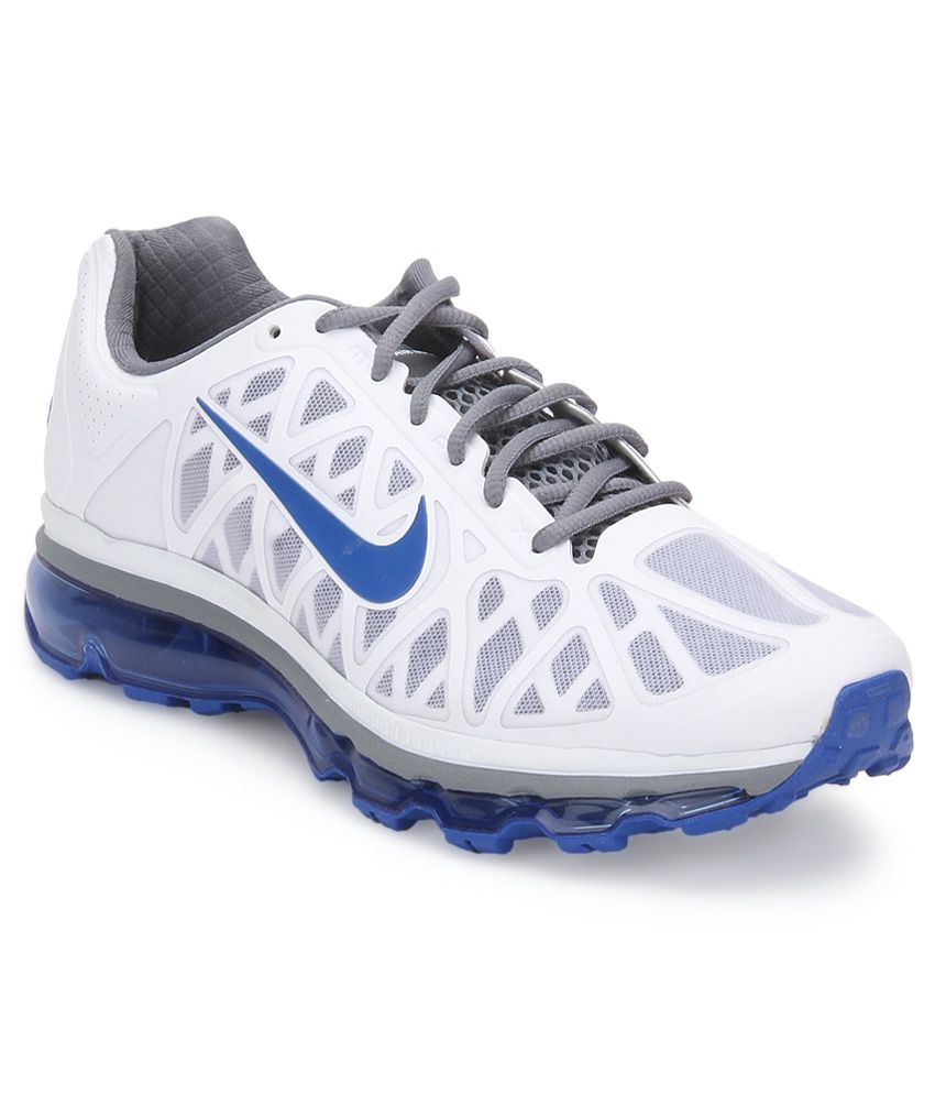 nouveau style 032c7 26424 Nike Air Max 2011 White Sports Shoes