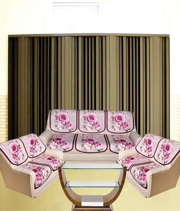 tanyas homes multi floral sofa cover pack of 14 buy