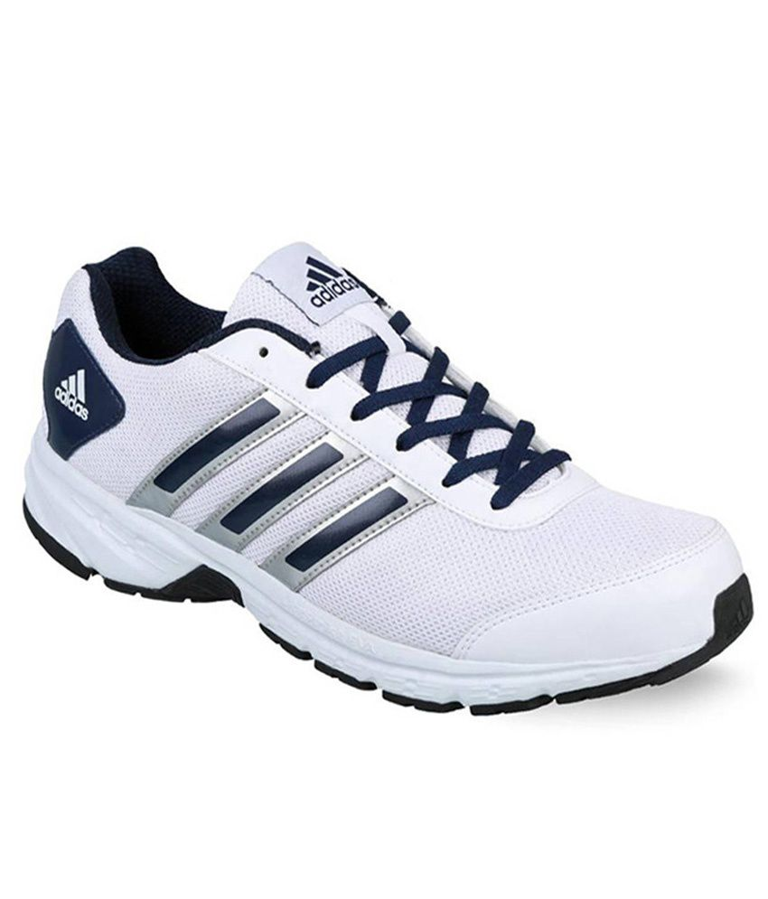 d807ffd23 Adidas White Sport Shoes - Buy Adidas White Sport Shoes Online at Best  Prices in India on Snapdeal