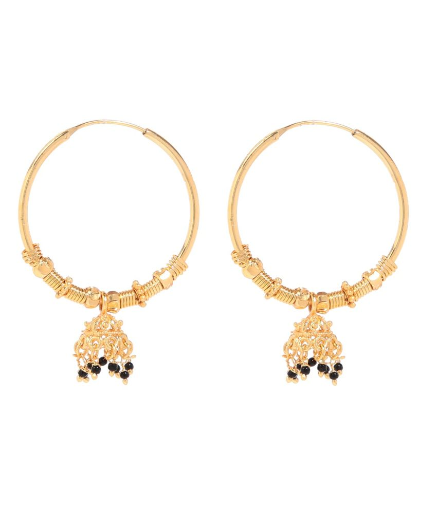 Tsquare Style Diva Hoop Earrings
