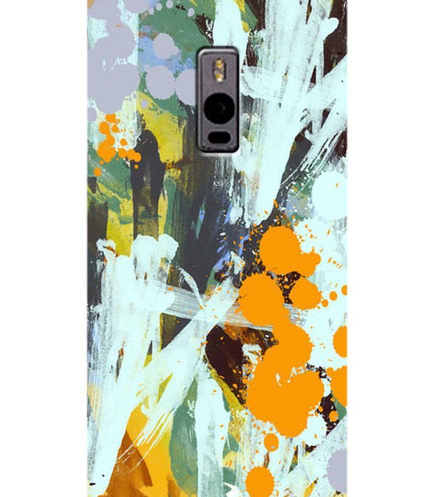 Zapcase Back Cover For Oneplus 2 - Multicolour