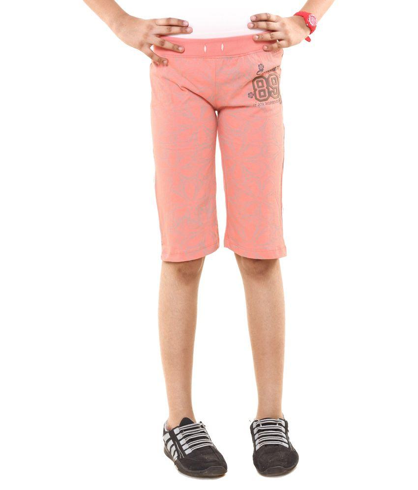 Menthol Pink Shorts
