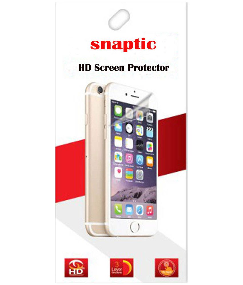 Snaptic Clear Screen Guard For Samsung Galaxy Grand Max G7200 Set Of 3