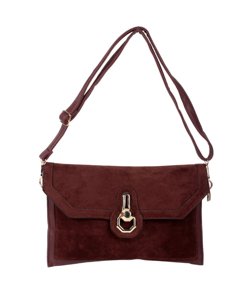 Trendberry TBSB-CH-015 Brown Sling Bags
