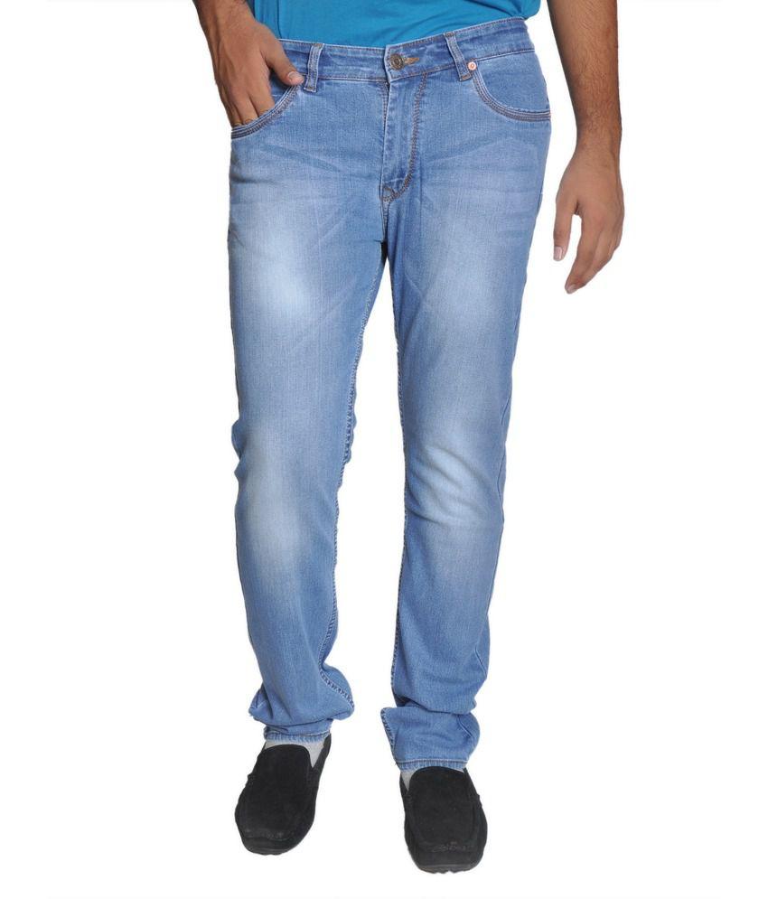 Levi's Blue Regular Cotton Jeans