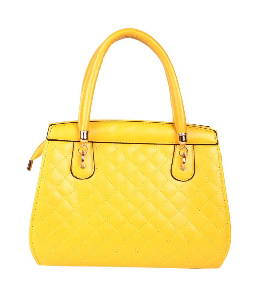 Trendberry TBHB-Y-016 Yellow Shoulder Bags