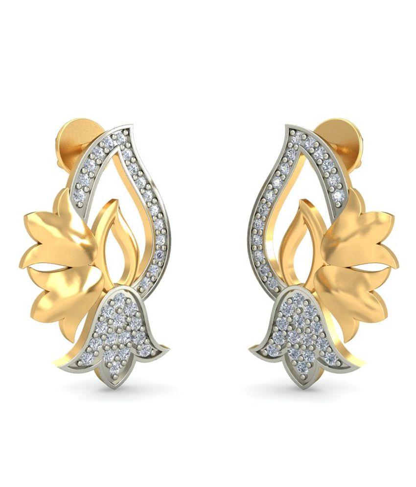 Goldadorn 14kt Gold Stud Earrings