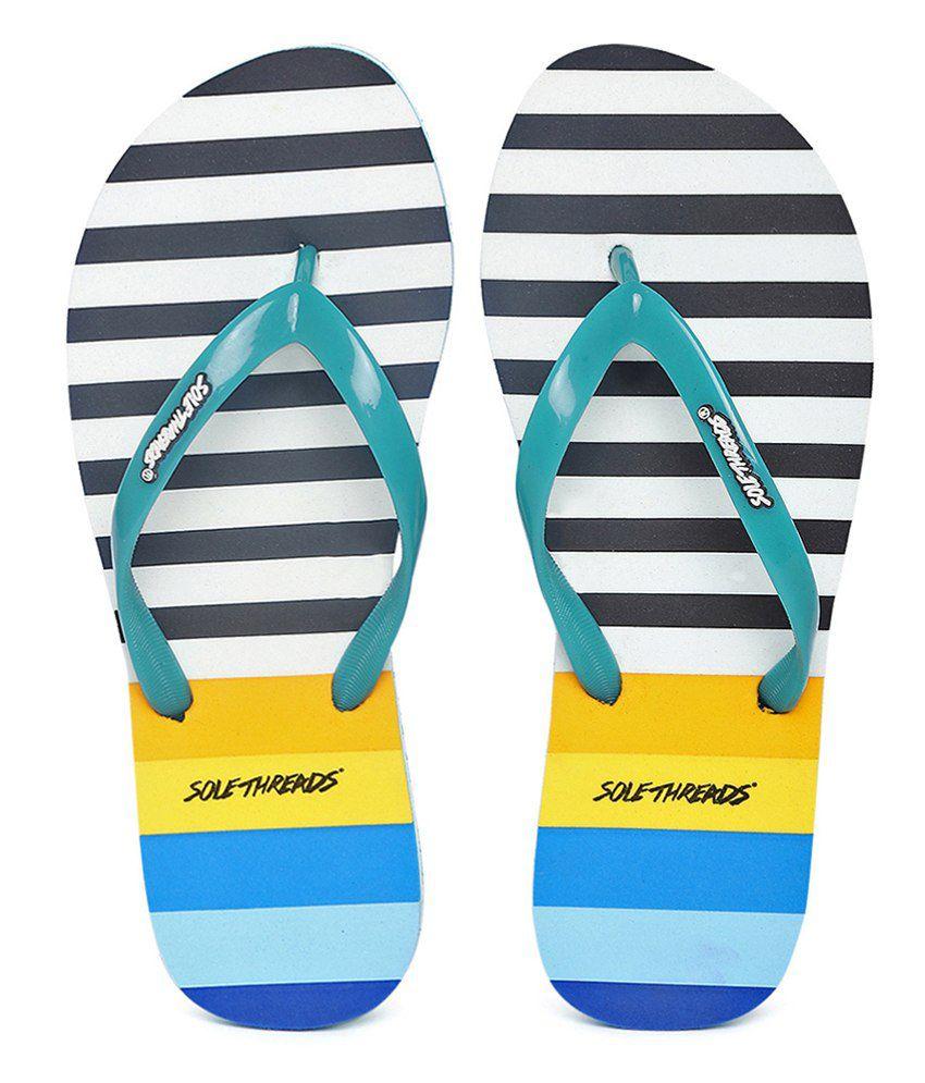 Sole Threads Nautica Colour Multi Flip Flops