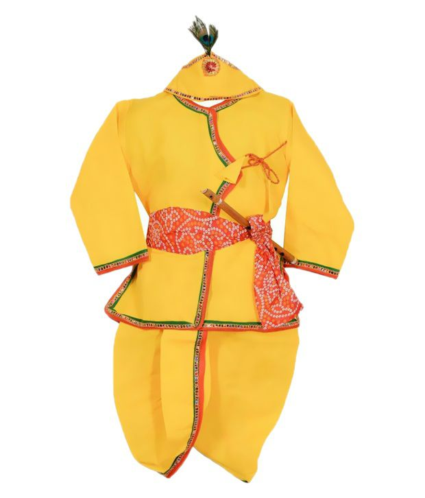 Ishikagarments Yellow Krishana Dress