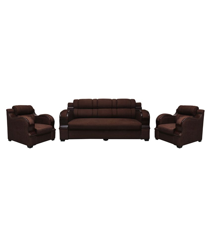 Prime Panache Solid Wood 5 Seater Sofa Set In Brown Buy Unemploymentrelief Wooden Chair Designs For Living Room Unemploymentrelieforg