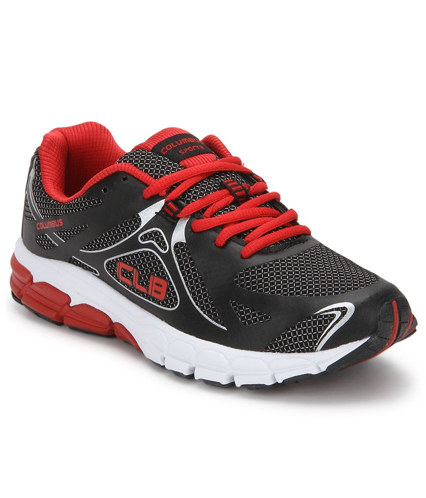 Columbus Spain Black Sport Shoes