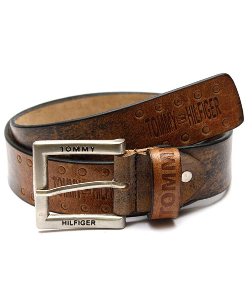Krazoo Brown Leather Belt