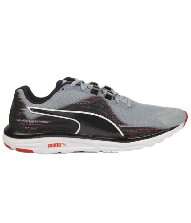 reputable site c2feb 621a6 Puma Faas 500 V4 Gray Sports Shoes