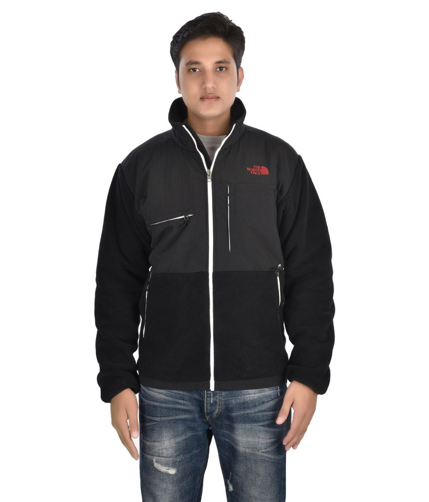 9c059bad5 The North Face Black Full Sleeves Polyester Casual Wear Jacket - Buy ...