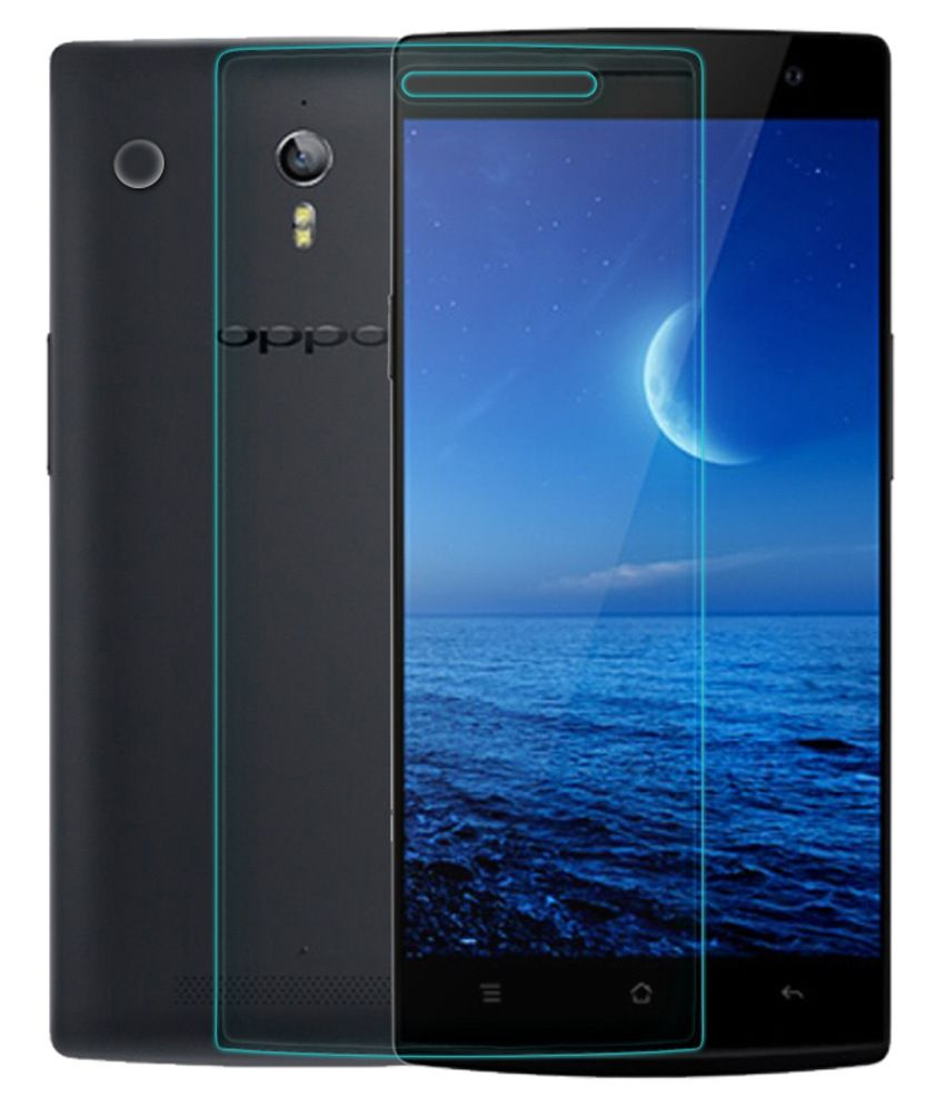 OPPO Find 7 Tempered Glass Screen Guard by cellphonez