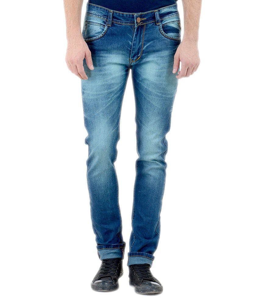 Vrgin Navy Slim Fit Jeans