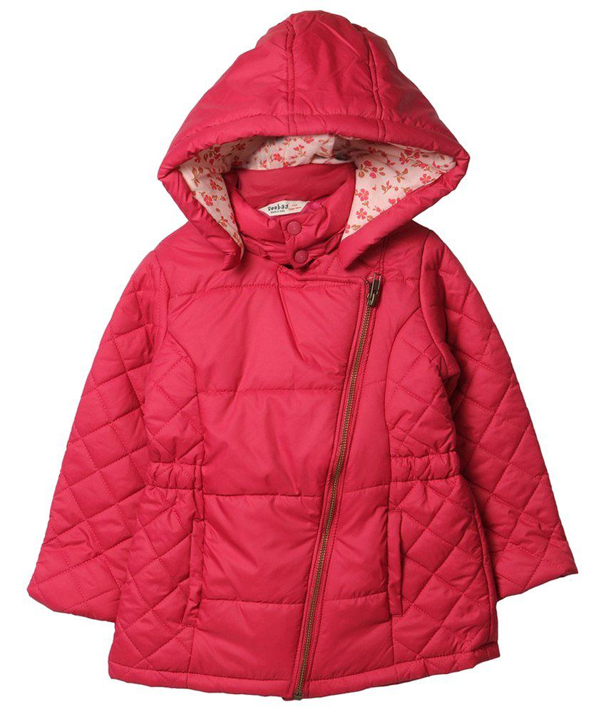 Beebay Pink Quilted Jacket