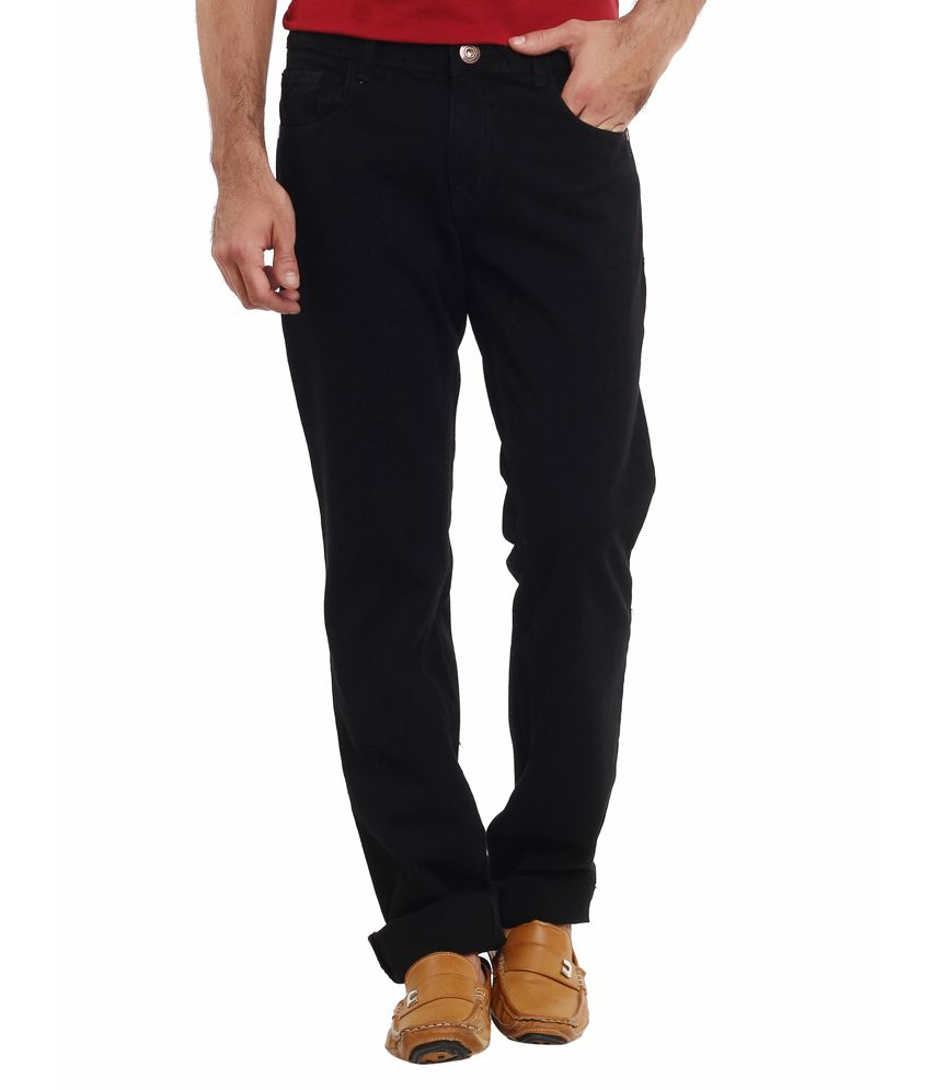 fc1ec74a2 Classic Polo Black Slim Fit Jeans - Buy Classic Polo Black Slim Fit Jeans  Online at Best Prices in India on Snapdeal