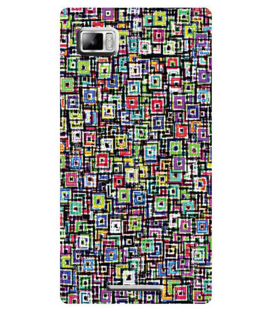 pretty nice 6bff3 fc672 Zapcase Back Cover For Lenovo Vibe Z - Multicolour