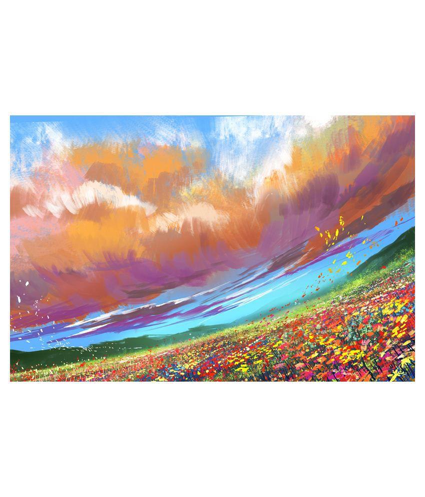 Deepika Creation Acrylic Painting With Frame