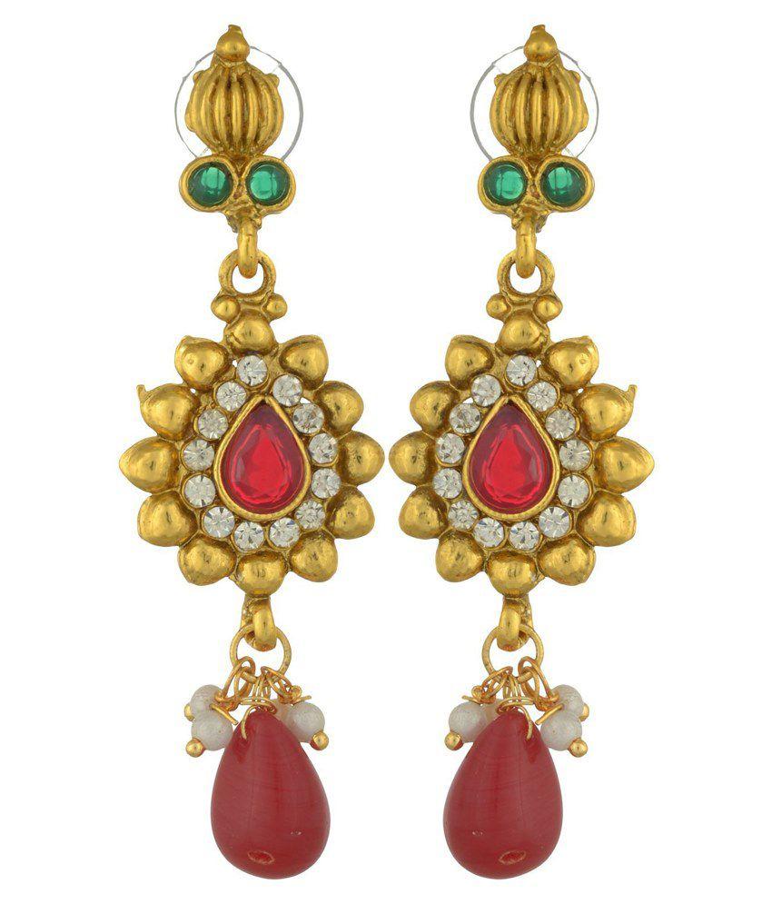 Sixmeter Jewels Multicolour Brass & Copper Necklace Set