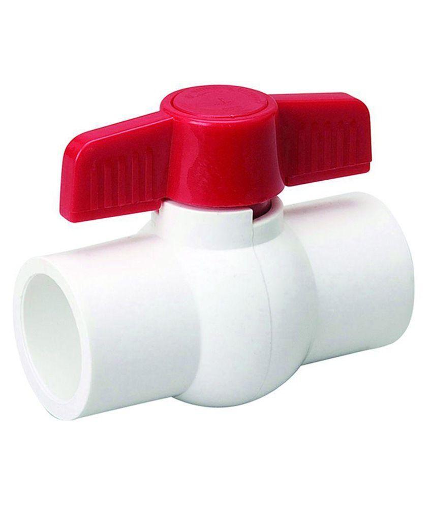 Bajaj Enterprises White & Red Plastic Fitting 1 Inch