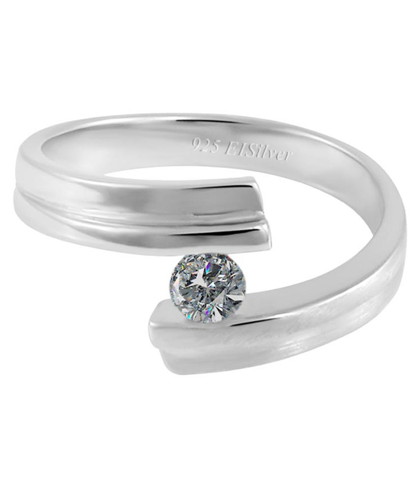 Eisilver 92.5 Sterling Silver Ring