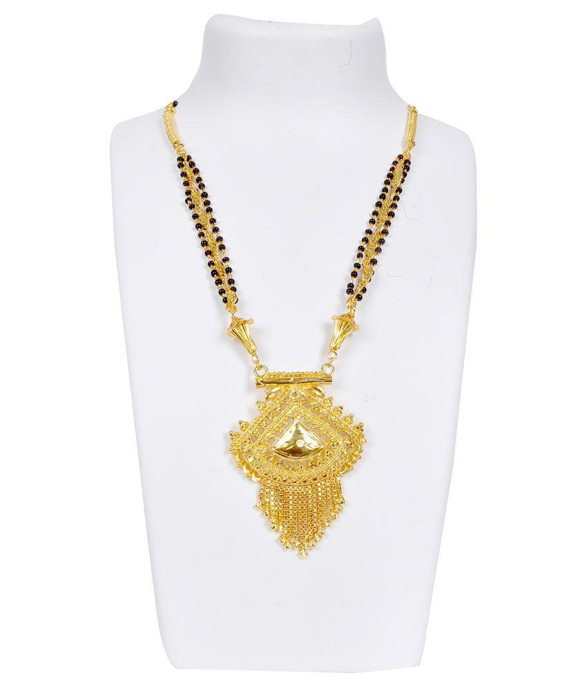Dev Jewellery Golden Copper Contemporary Mangalsutra