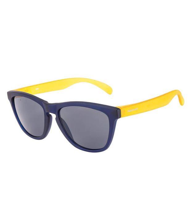 0169da17f3 Fastrack PC003BK6 Blue Wayfarer Sunglass For Unisex Art FTEPC003BK6 - Buy  Fastrack PC003BK6 Blue Wayfarer Sunglass For Unisex Art FTEPC003BK6 Online  at Low ...