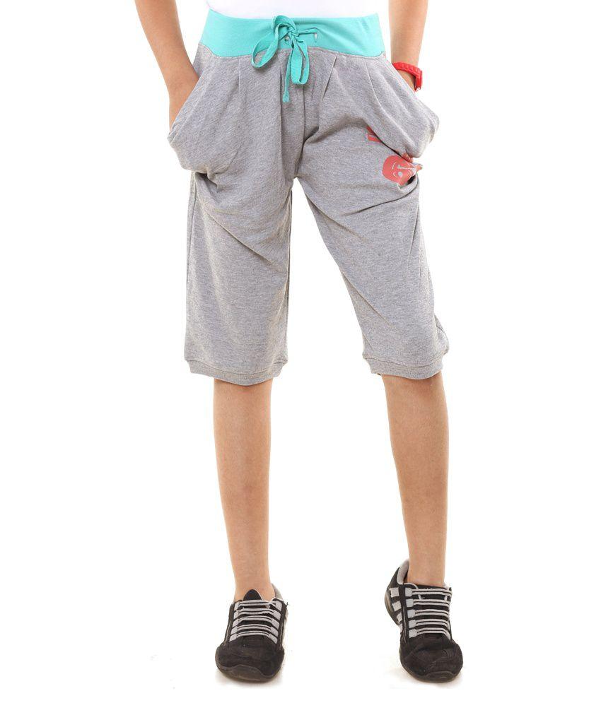 Menthol Green Shorts