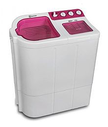 Electrolux 6.7kg Euro Glitz Semi Automatic Top Load Washing MachineLuminous Pink