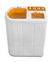 Electrolux 6.8kg Euro Glitz Plus Semi Automatic Top Load Washing MachineLuminous Orange
