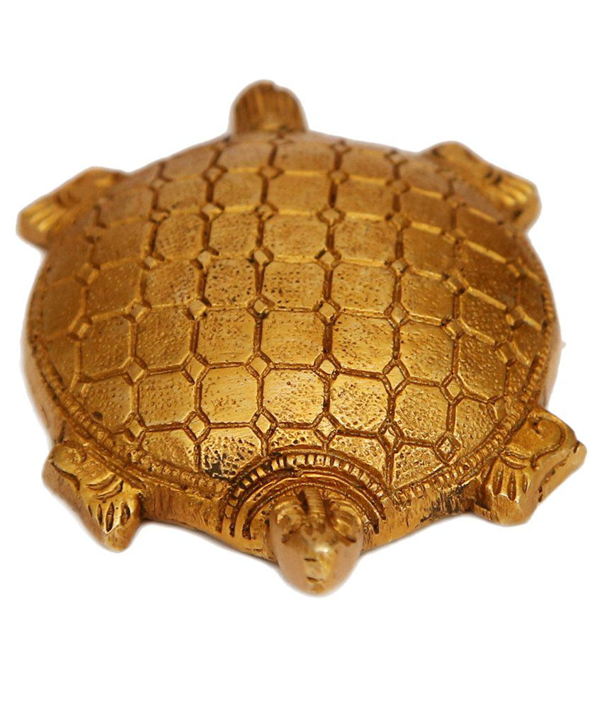 Craftartz Golden Brass Tortoise