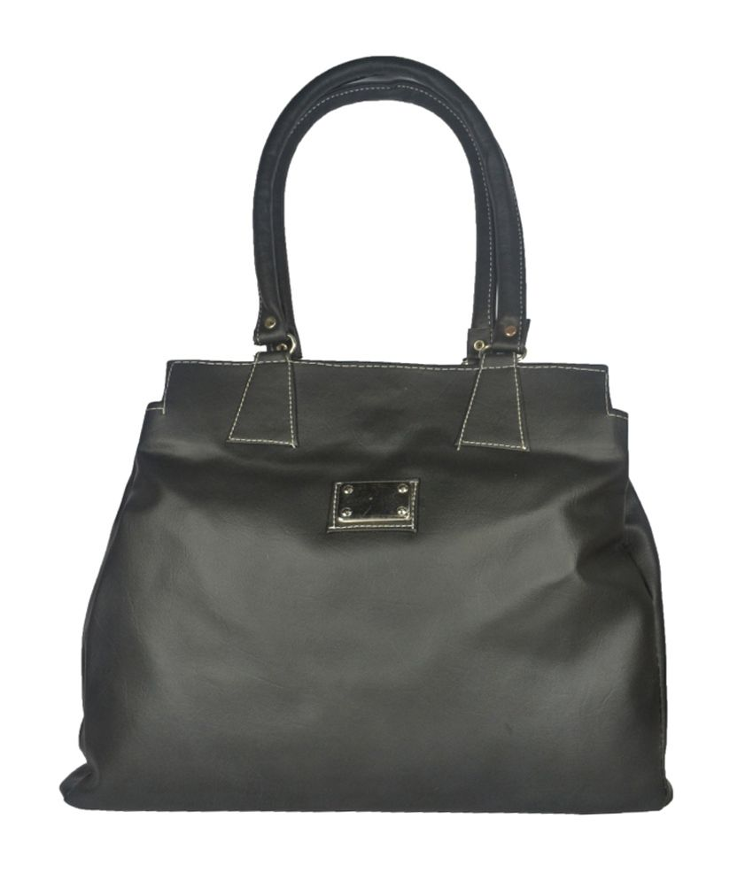 Lady Heart Black Tote Bag