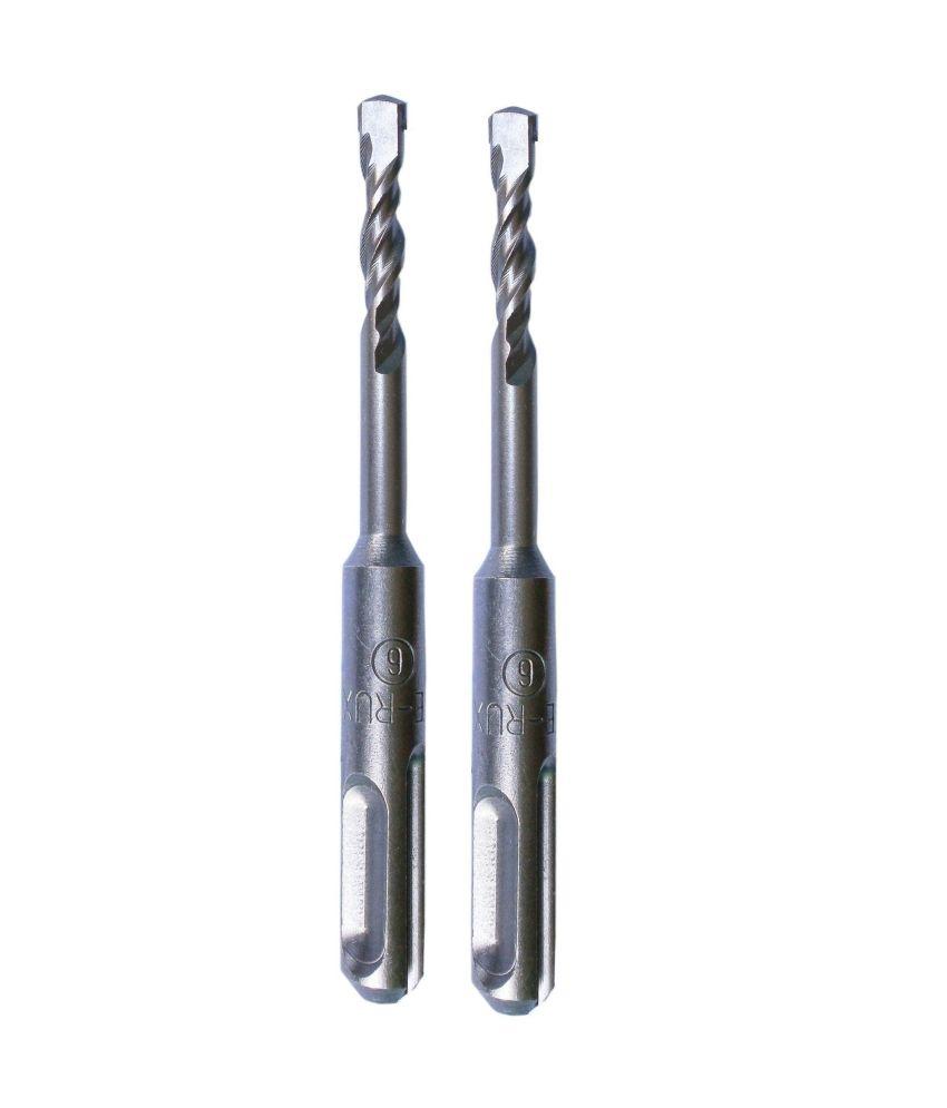 Te-Rux-SDSP06110-2-SDS-Plus-Hammer-Drill-Bit-(06-x-110,-Set-Of-2)