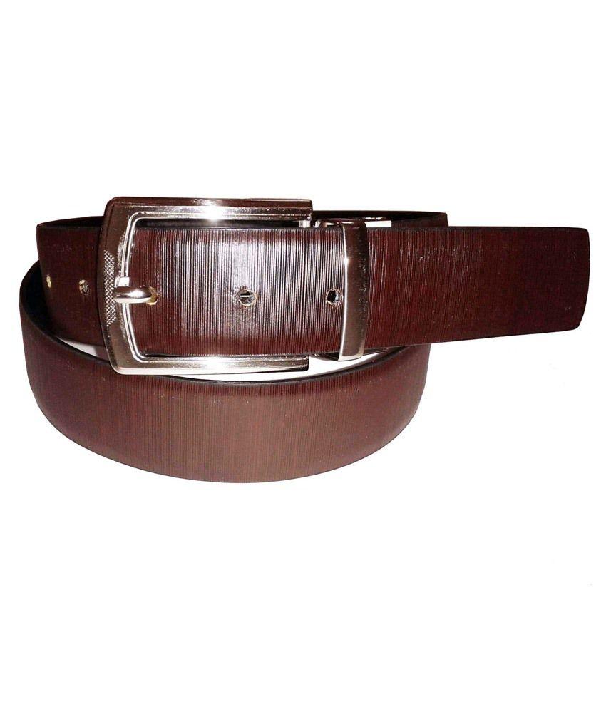 Sanshul Enterprises Brown Leather Belt