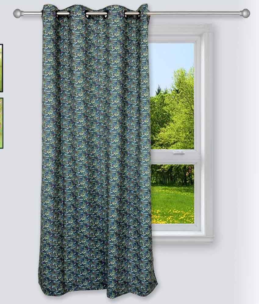 Story@Home Single Window Eyelet Curtain