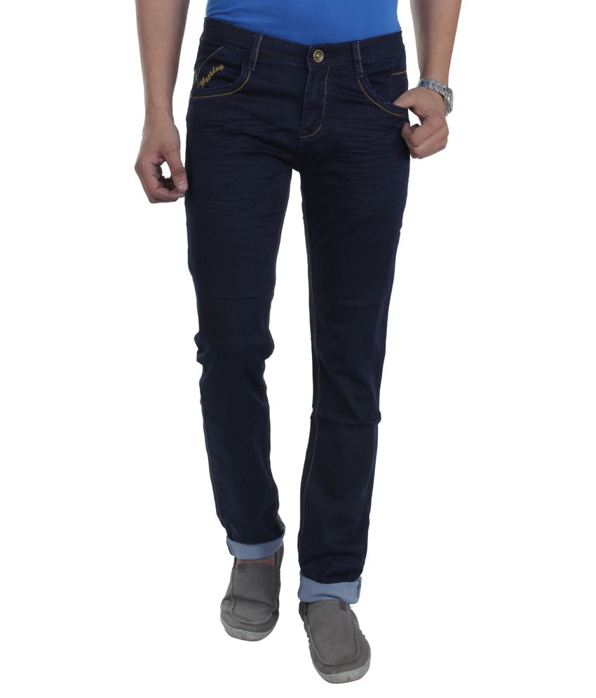 Makeover Blue Slim Fit Jeans
