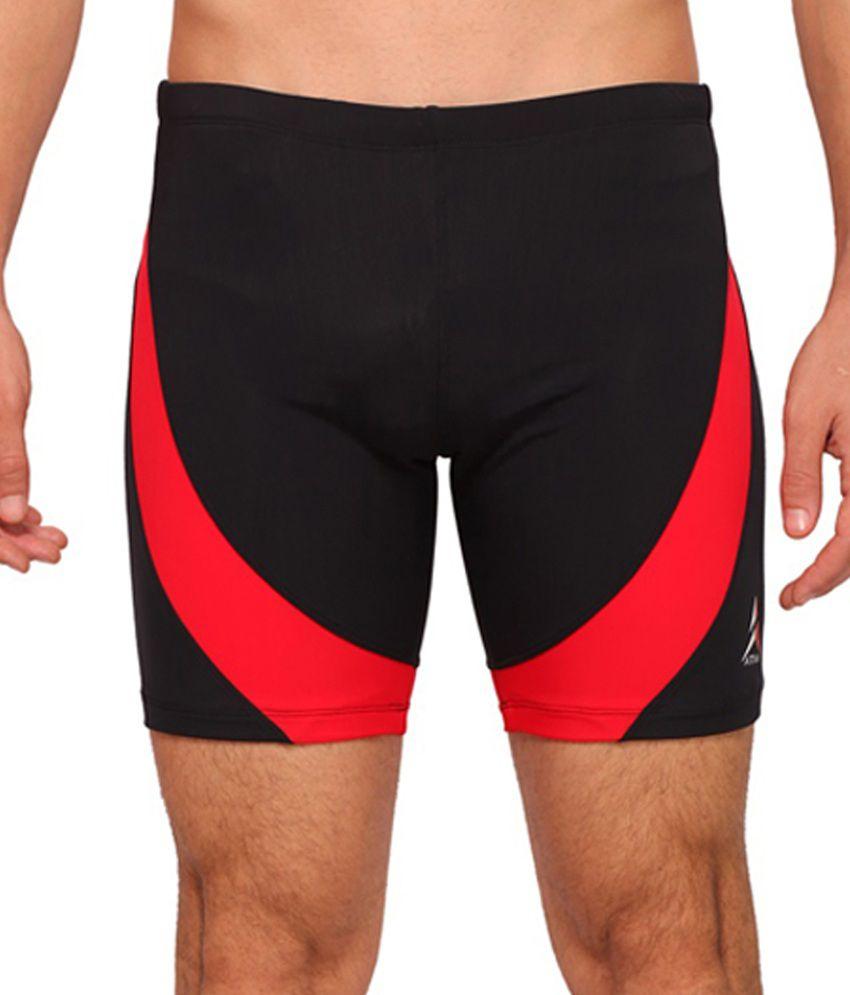 Attiva Black Swimwear Shorts/ Swimming Costume
