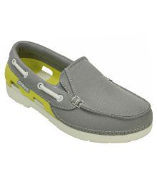 Crocs Gray Casual Shoes For Kids