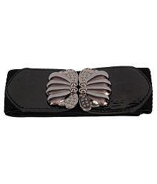 Victoria Secret Black Fabric Belt