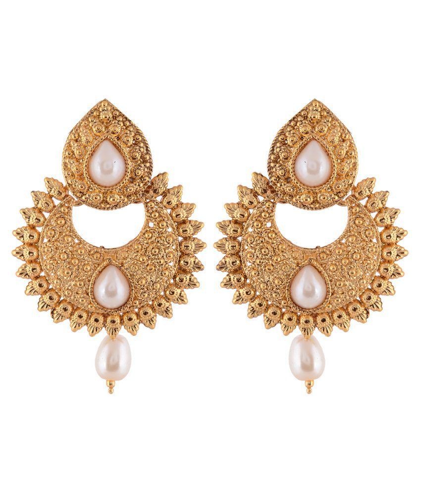 Sewad Multicolour Alloy Drop Earrings